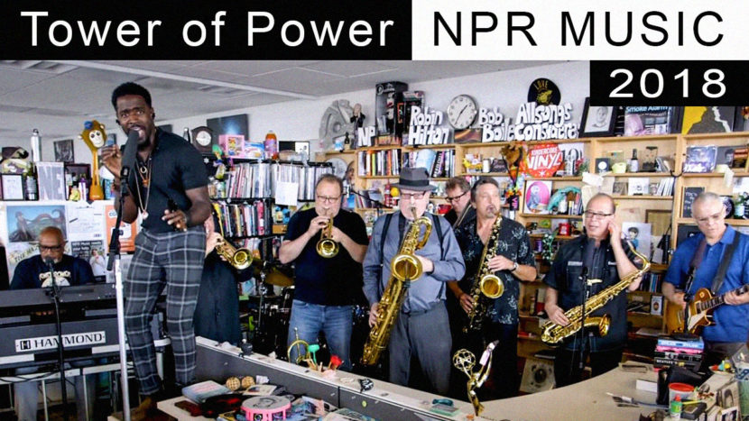 Tower of Power - Live at NPR Music 2018